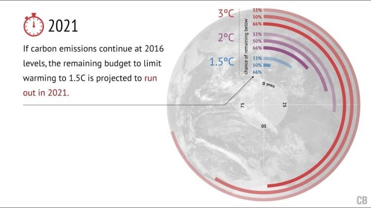Carbon budget 2021